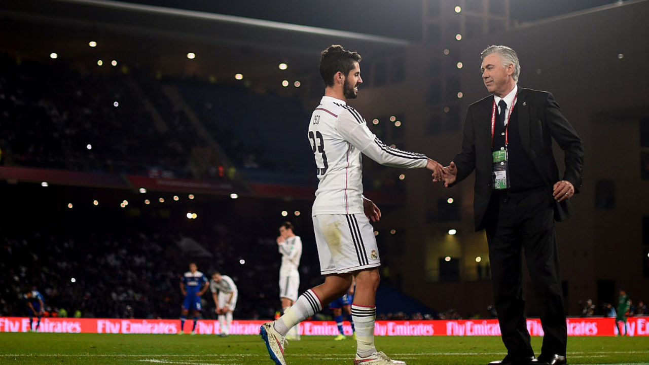 Carlo Ancelotti comments on transfer link with Real Madrid midfielder