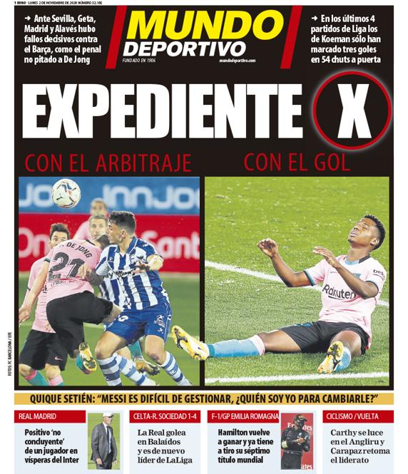 Today S Spanish Papers Real Madrid Set For Inter Milan Challenge And Barcelona Struggles Continue Football Espana