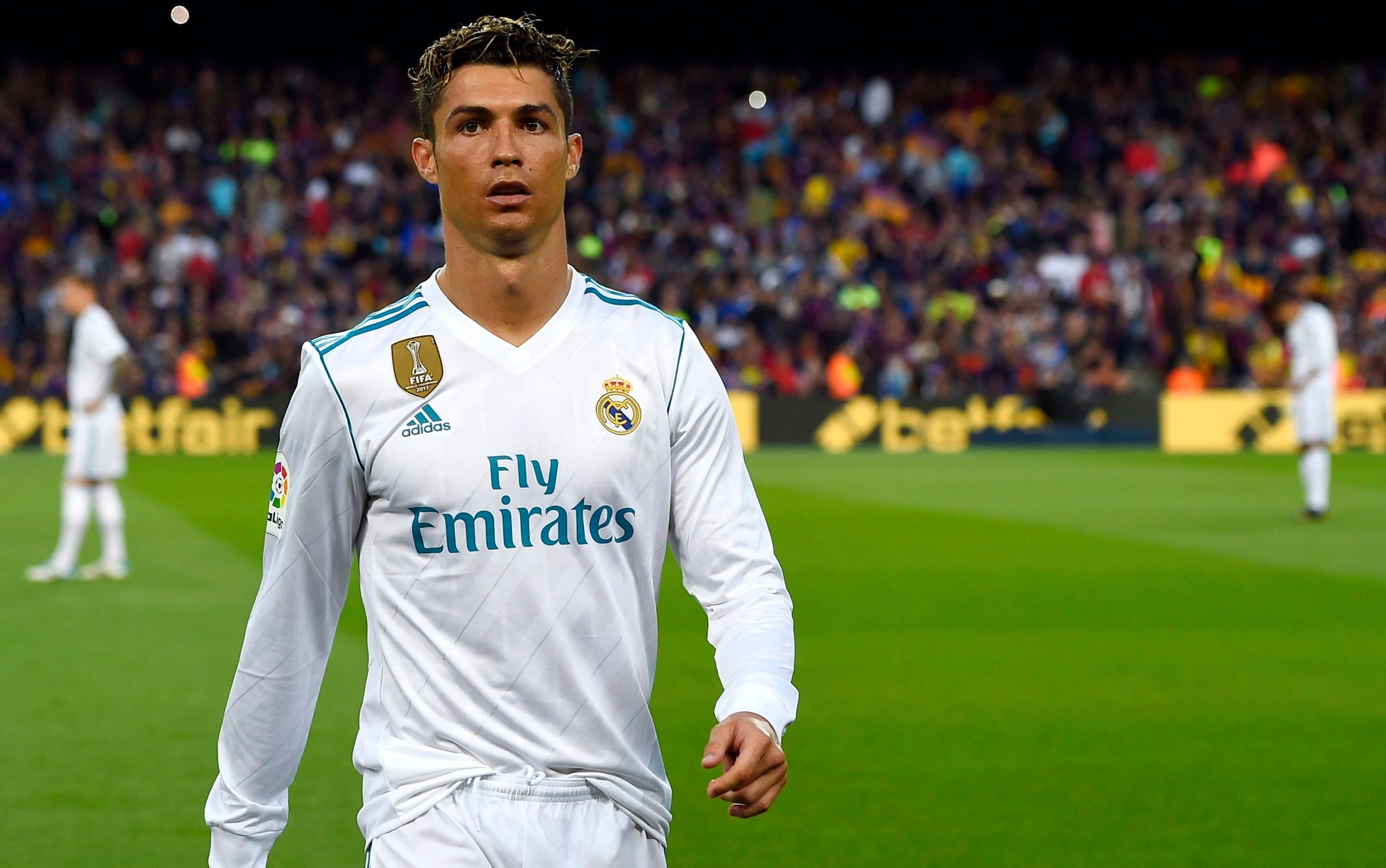 La Liga Boss Excited By Talk Of Cristiano Ronaldo S Real Madrid Return He Is Man Made In Madrid It Would Be Beautiful Football Espana