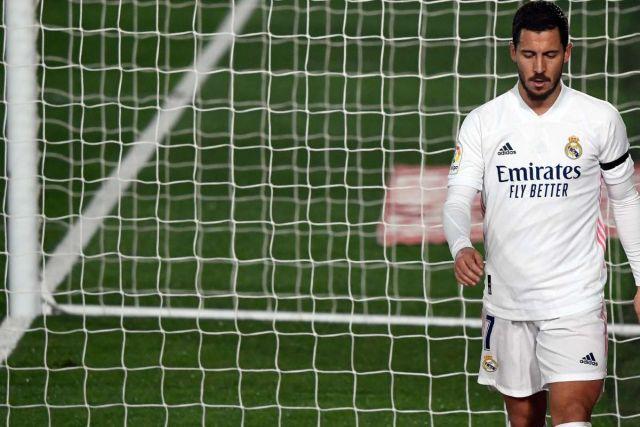 La estrella del Real Madrid Eden Hazard