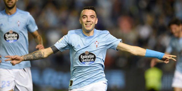 El delantero del Celta de Vigo Iago Espace