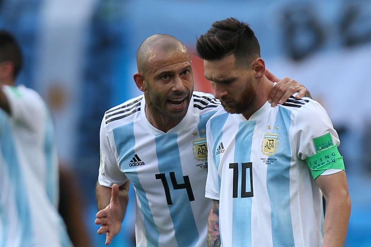 Lionel Messi sends emotional message to Javier Mascherano upon his  retirement - Football Espana