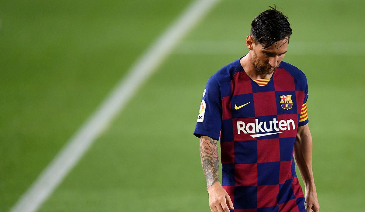 Lionel Messi and Barcelona are learning how to fail
