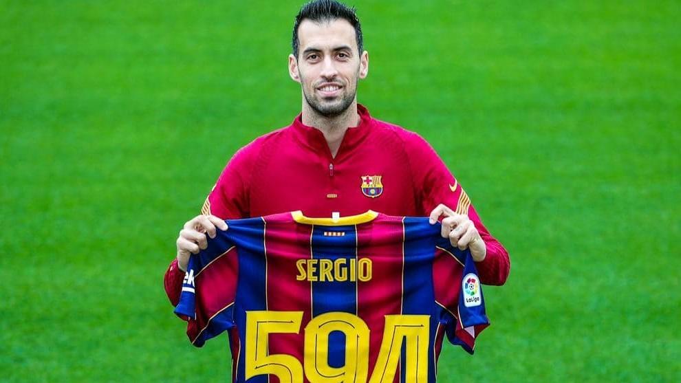 Sergio Busquets makes Barcelona history by surpassing Carles Puyol