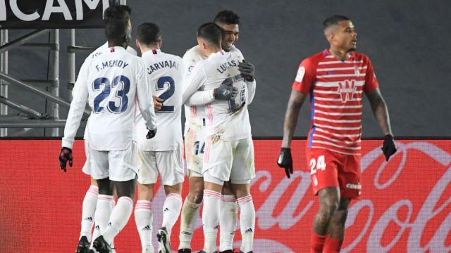 El Real Madrid venció al Granada