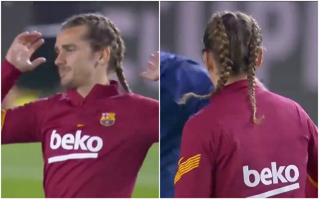 Watch Antoine Griezmann Debuts Daring New Hairstyle Against Real Sociedad Football Espana