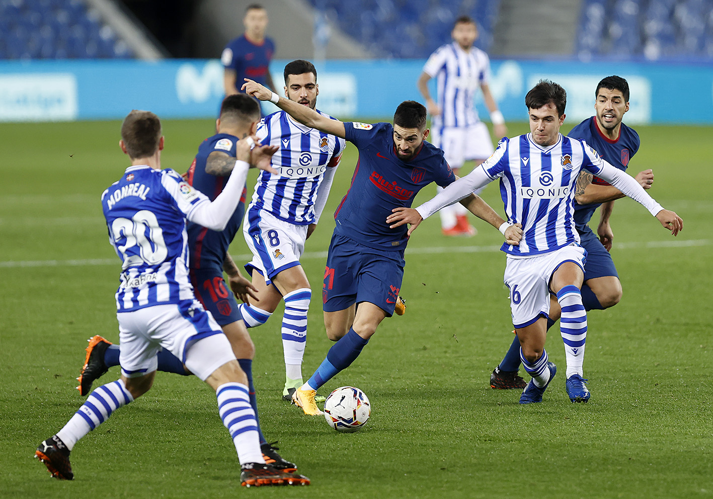 Watch: Mario Hermoso gives Atletico Madrid the lead at Real Sociedad