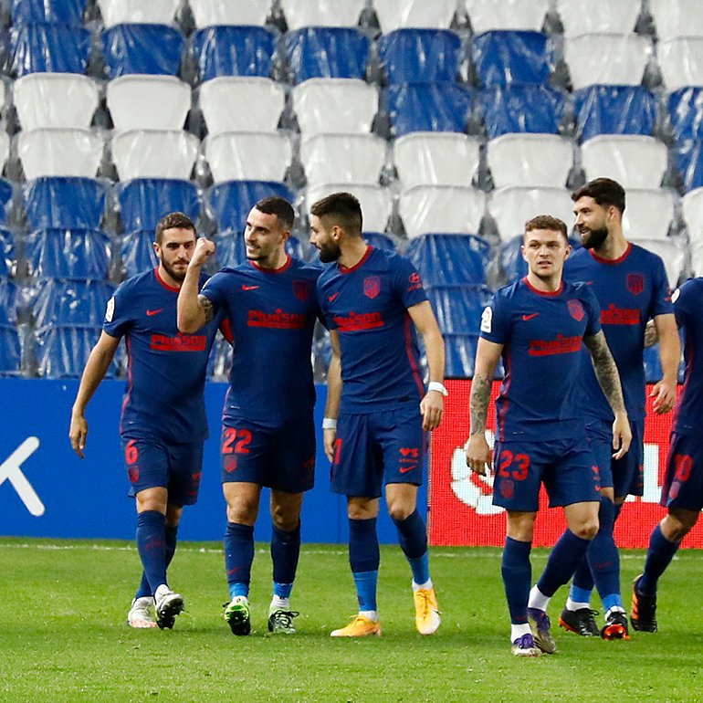 Strong away performance sees Atletico Madrid beat Real Sociedad 2-0