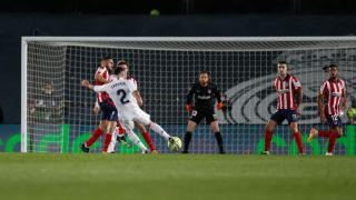 WATCH: Dani Carvajal wonder goal puts Real Madrid 2-0 up over Atletico  Madrid - Football Espana