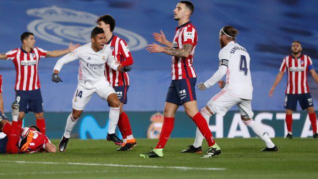 Madrid derby Real Madrid v Atletico Madrid