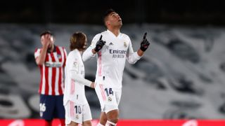 Real Madrid cruise to 2-0 derby win over Atletico Madrid - Football Espana
