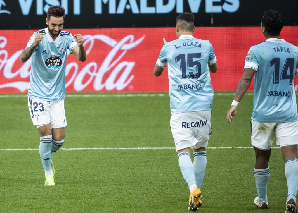 Brais Mendez brace helps Celta Vigo to victory over Alaves - Football Espana