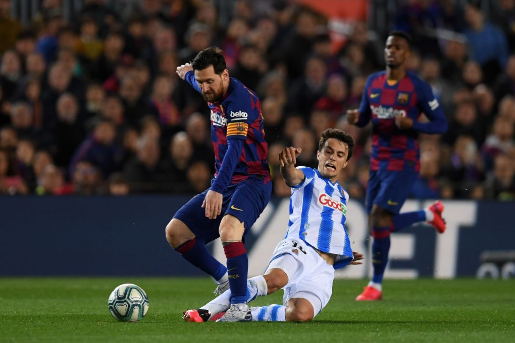 Lionel Messi absent as Barcelona prepare to take on Real ...