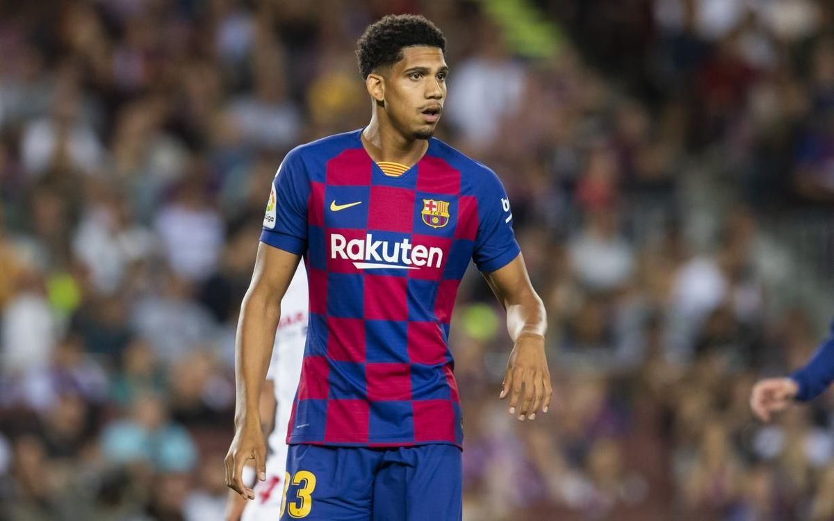 Ronald Araujo hoping to stake a claim as Barcelona's main centre-back in Gerard Pique's absence