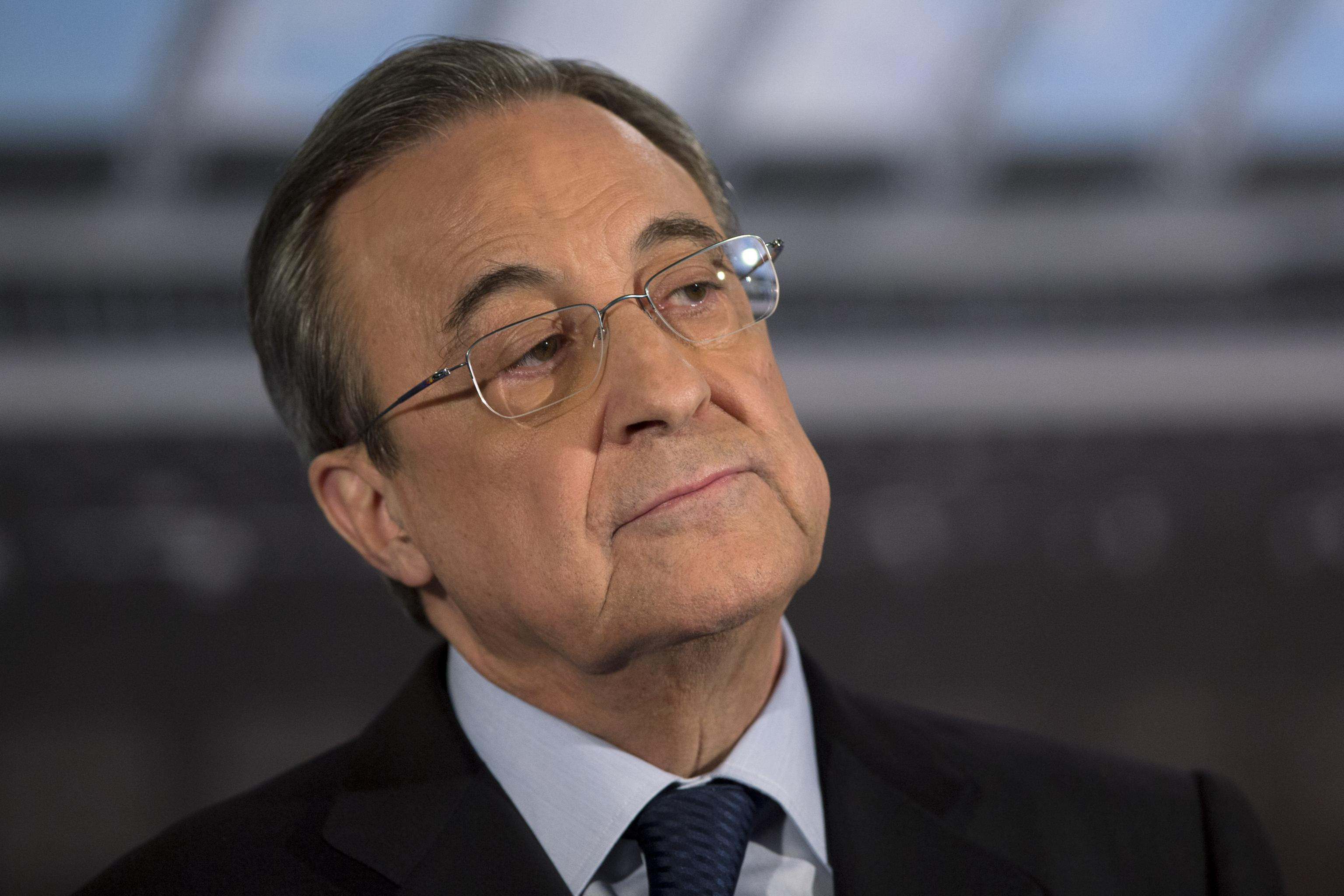 Florentino Perez running late for interview with Spanish radio as he's  locked in discussions with remaining Super League clubs - Football Espana