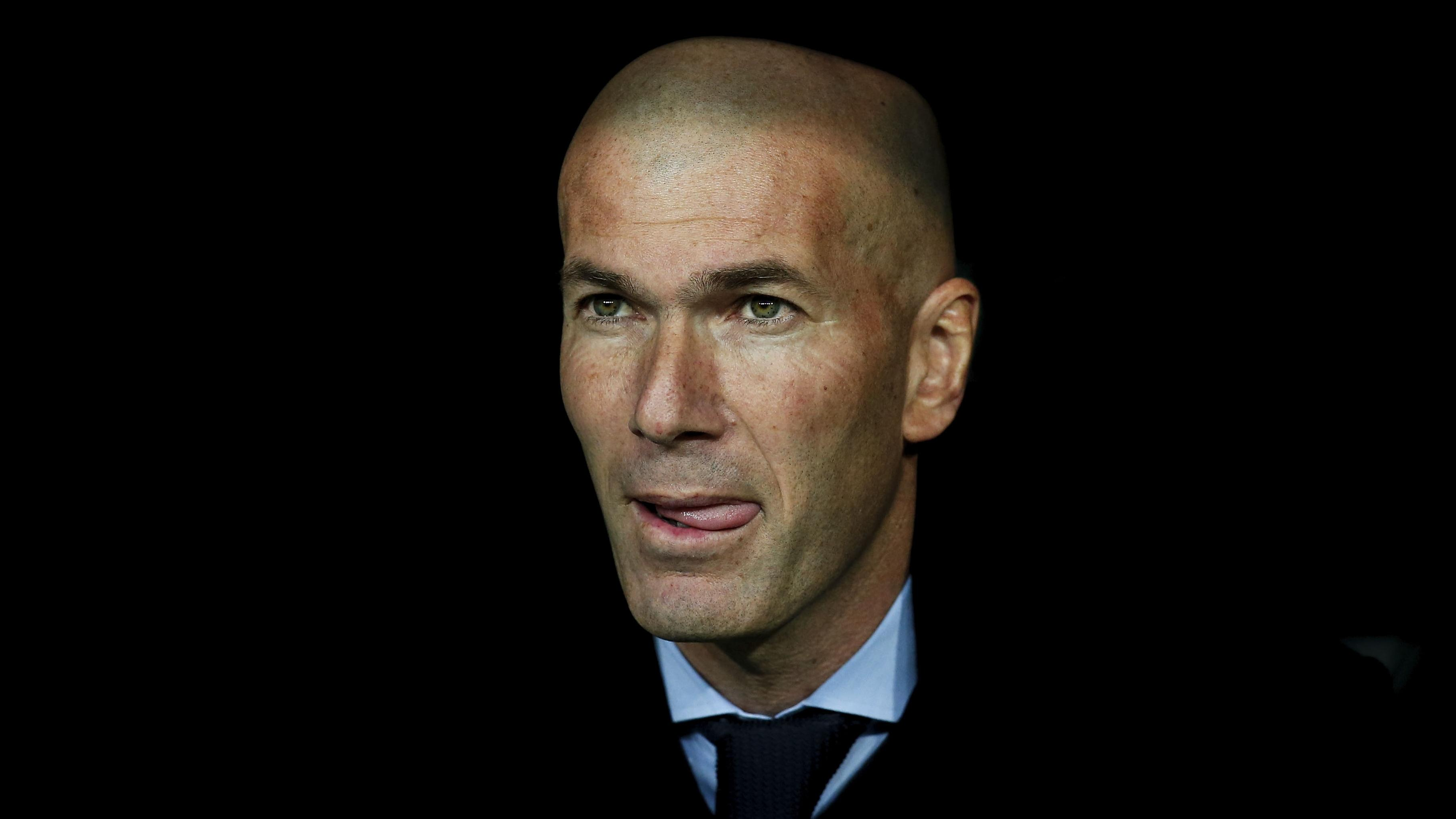 Watch: Zinedine Zidane loses his cool at Real Madrid press conference