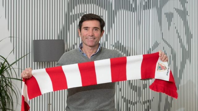 El entrenador del Athletic Club, Marcelino García Doral