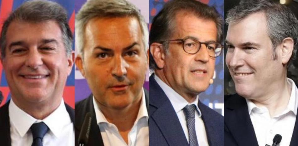 Barcelona presidential candidates – the final four