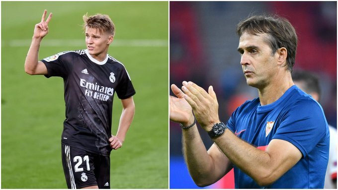 Sevilla look to beat Real Sociedad to Martin Odegaard loan deal