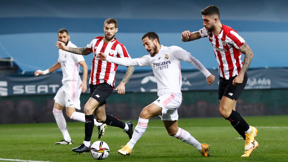 Watch: Benzema has equaliser for Madrid against Athletic ruled offside