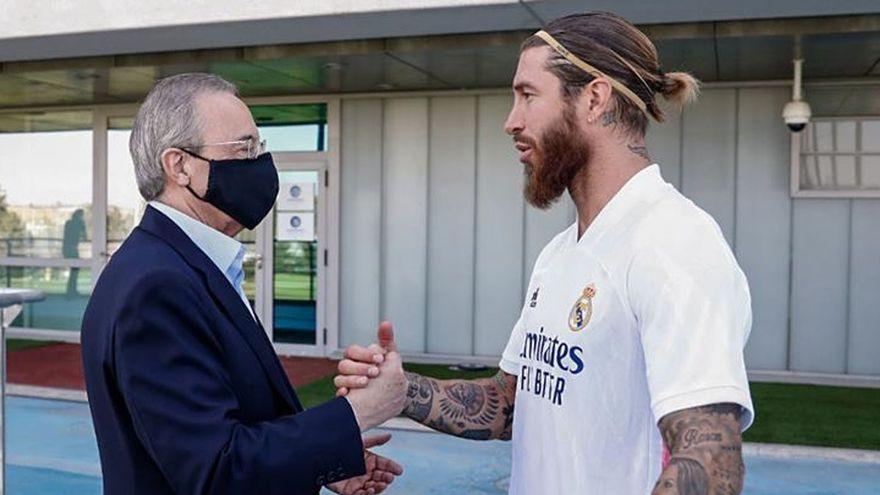 Sergio Ramos said to have made bold claim to Florentino Perez in private  meeting - Football Espana