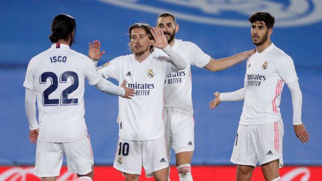 El Real Madrid celebra