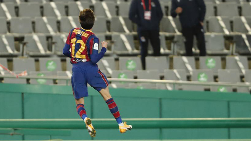 "Riqui Puig on his game-winning penalty: ""I was the first to say that I wanted to take it"""
