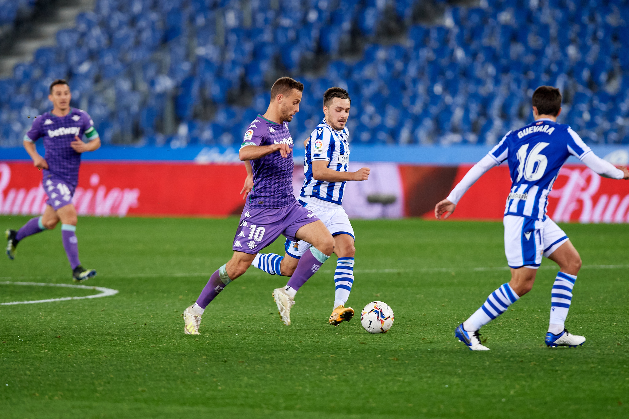 Real Betis mount late comeback to earn point at Real Sociedad