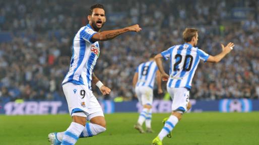 Watch: Willian Jose scores a second for Real Sociedad in the Copa del Rey