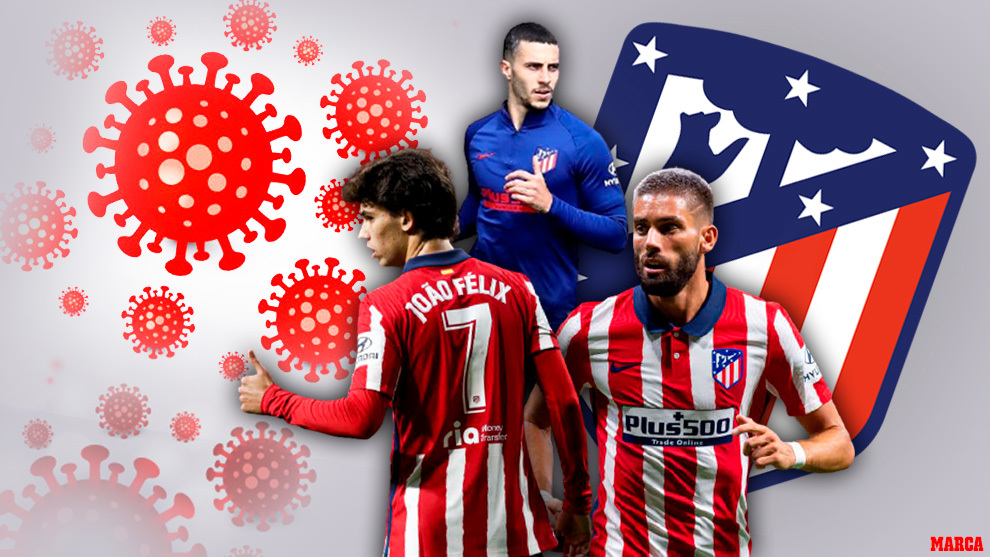 Atletico Madrid struck by Covid-19 ahead of crucial run of games