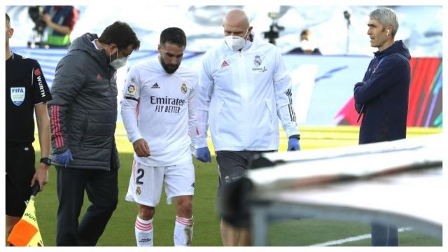 El defensa del Real Madrid Dani Carvajal