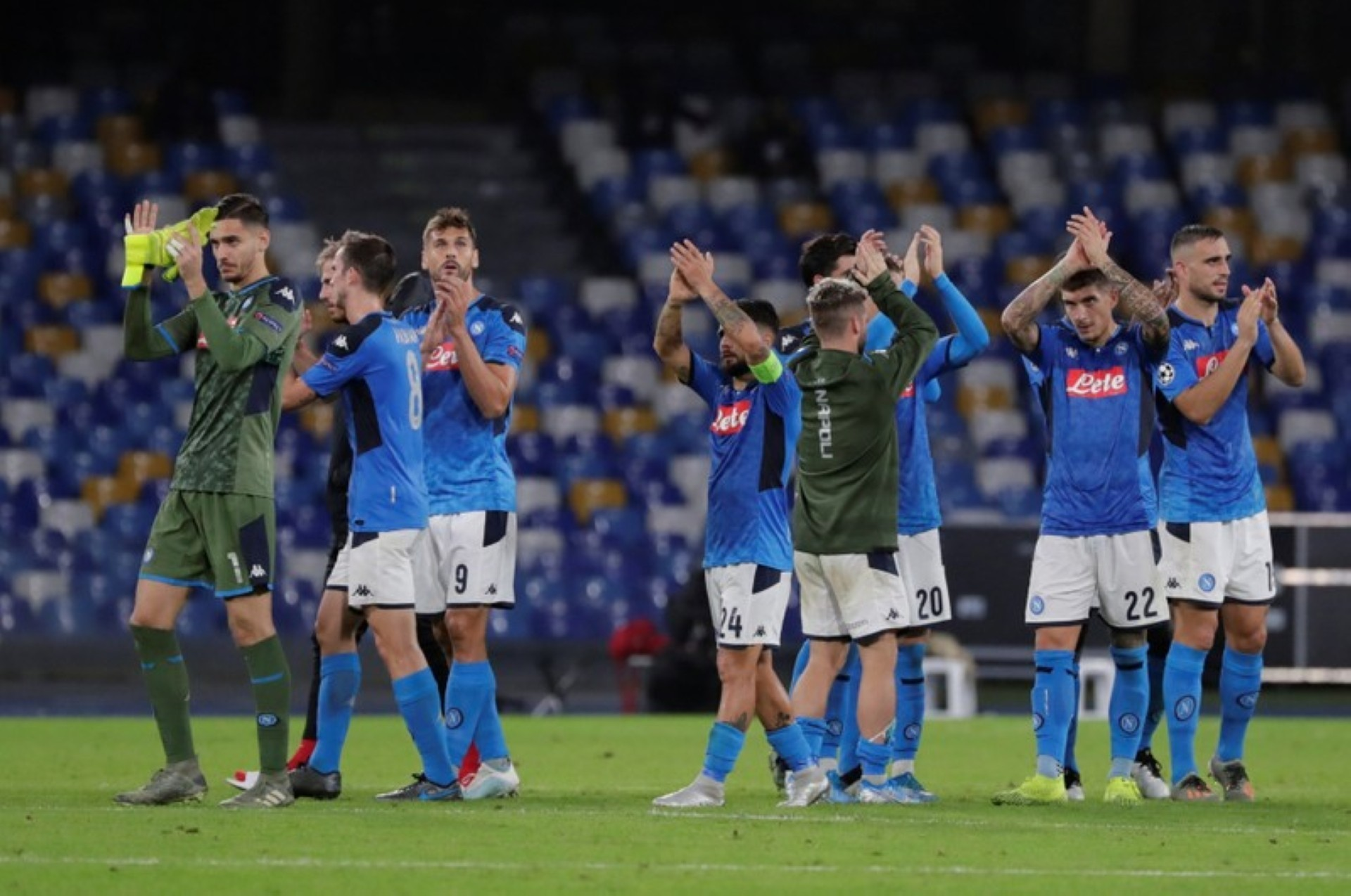 Napoli Squad Decimated For Europa League Clash Against Granada Football Espana