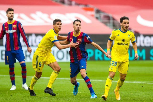 برشلونة v كاديز