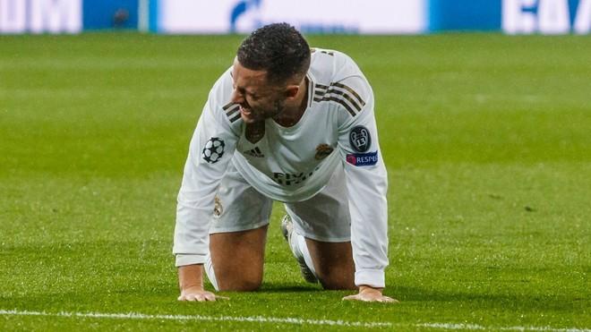 Real Madrid star Eden Hazard remaining confident despite injury issues