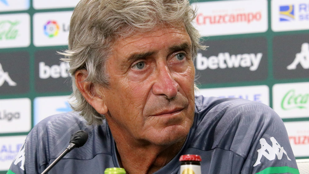 Manuel Pellegrini targeting European competition with Real Betis