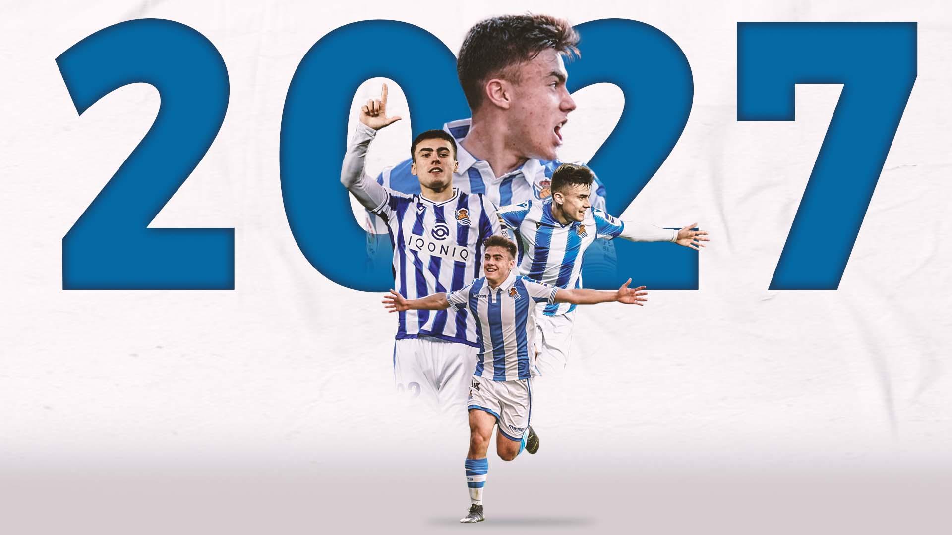 Ander Barrenetxea signs new Real Sociedad contract until 2027
