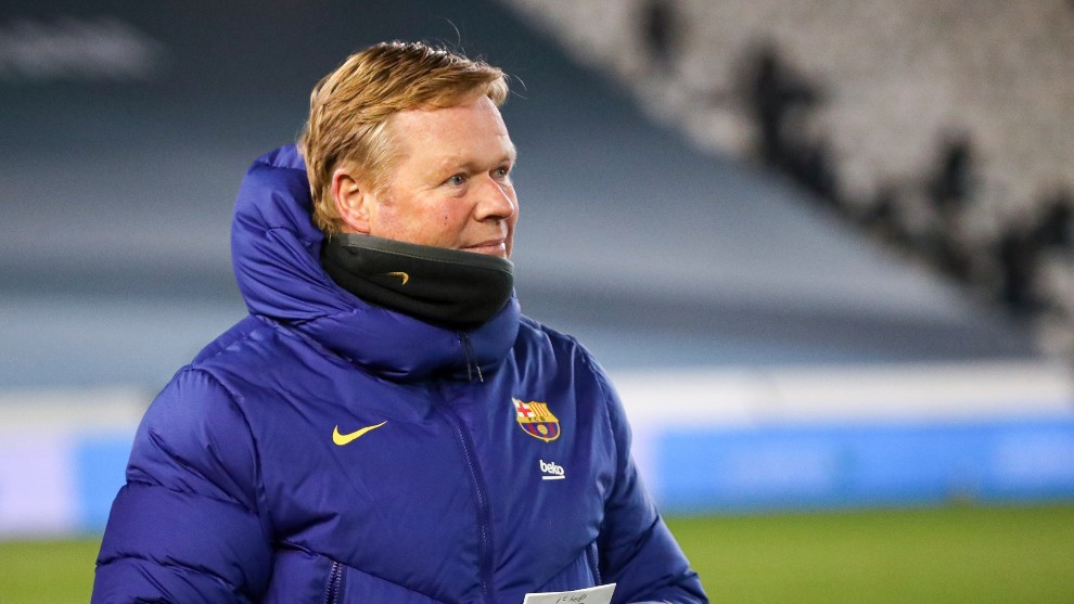 """Barcelona boss Koeman on his future: """"I want to be here and this is my job"""""""