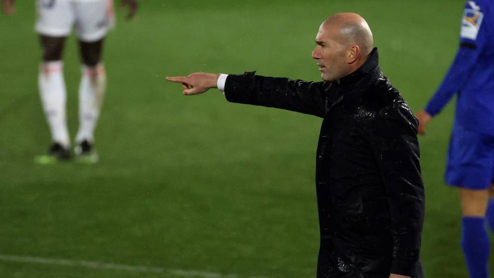 Zinedine Zidane pleased with the versatility of his players after Real Madrid victory over Getafe