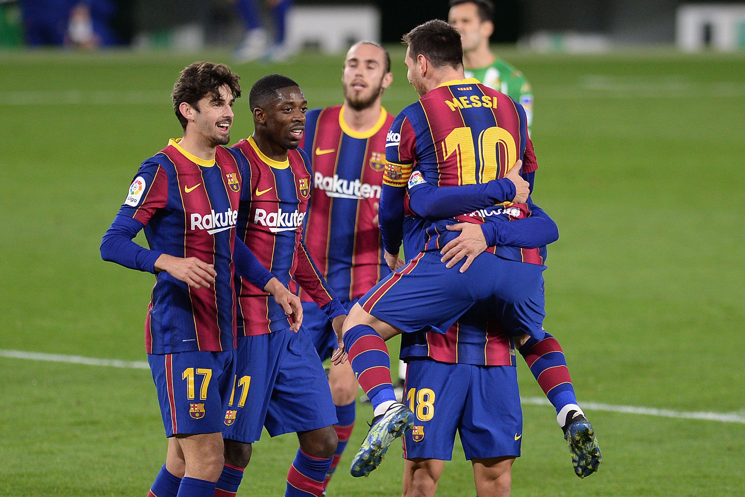 Barcelona fight back to seal vital 3-2 La Liga win at Real Betis