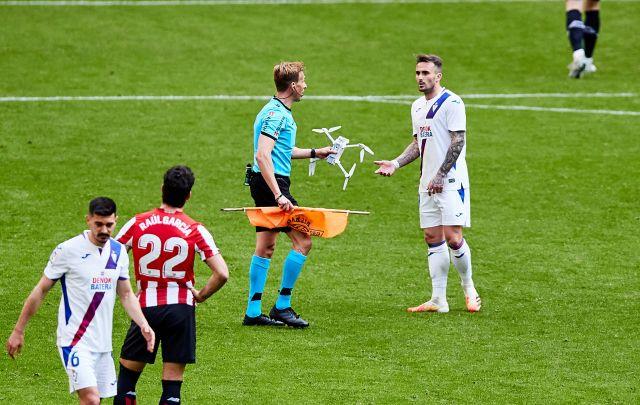Drone en la Liga española