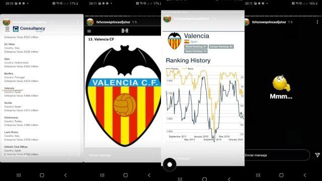 Bukti Pangeran Johor jadi pemilik Valencia. sumber: Football Espana.