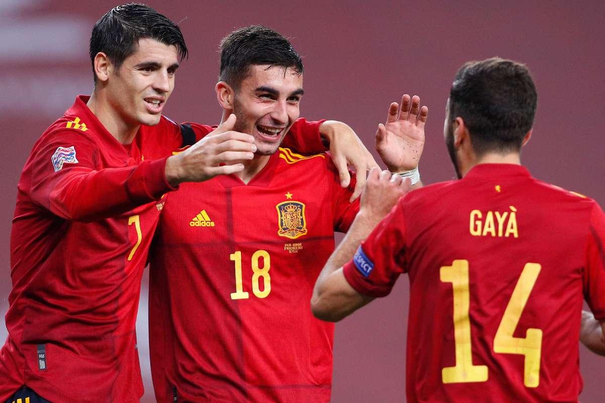 Watch: Ferran Torres doubles La Roja's lead over Kosovo at La Cartuja - Football Espana