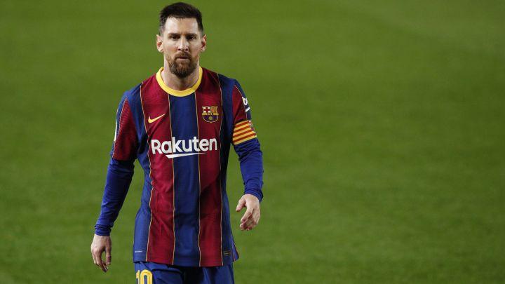 Lionel Messi and Monchi clash in the tunnel - Football Espana