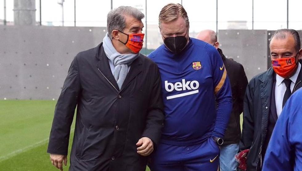 Barcelona have total confidence in boss Ronald Koeman
