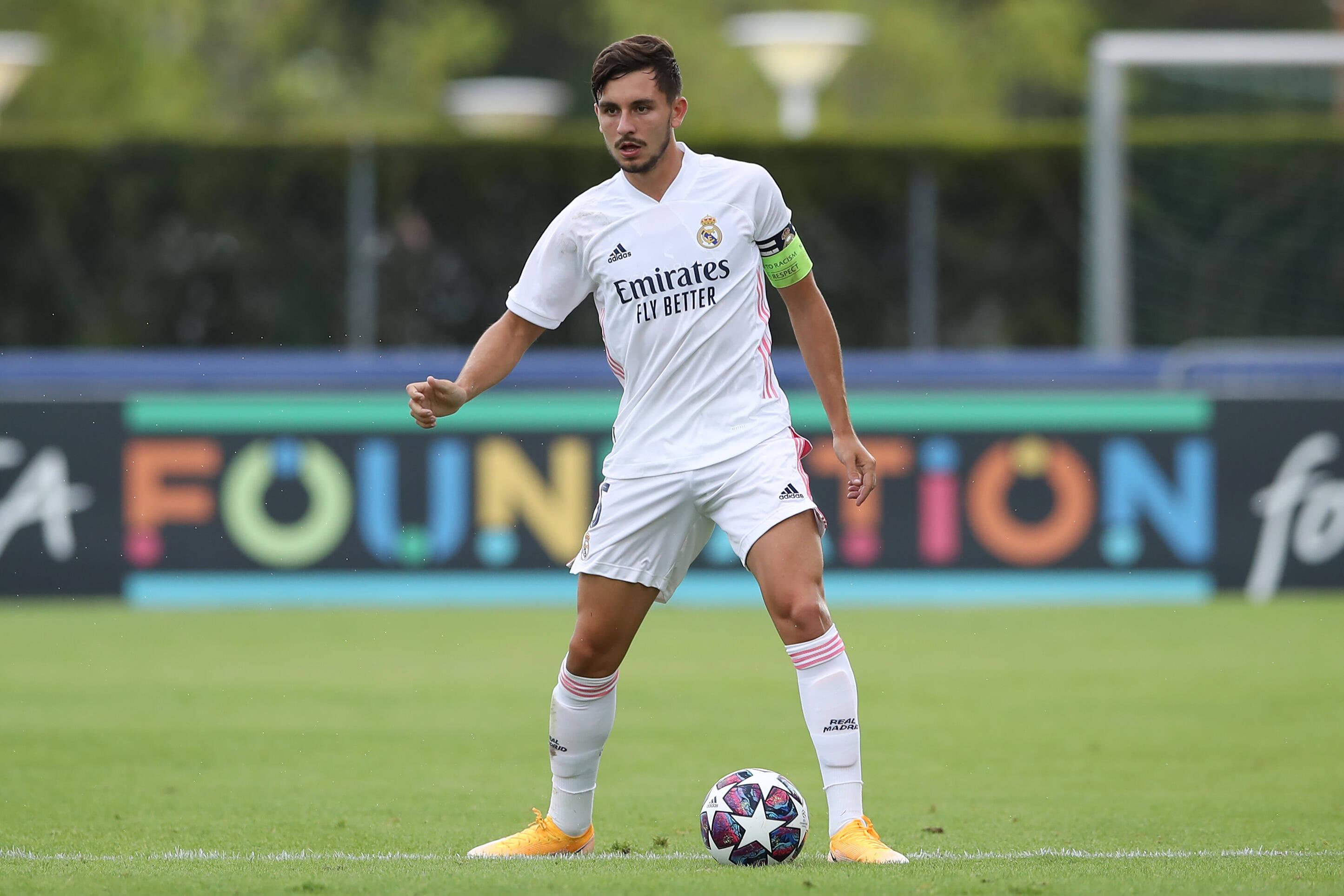 Real Madrid's Victor Chust set for Cadiz loan move