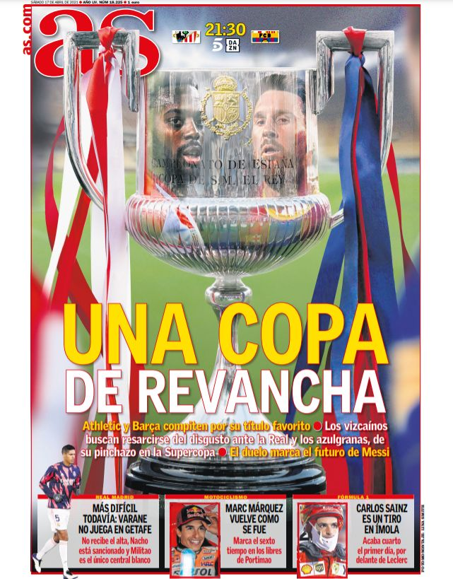 Today's Spanish Papers: Copa del Rey Preview as Barcelona ...