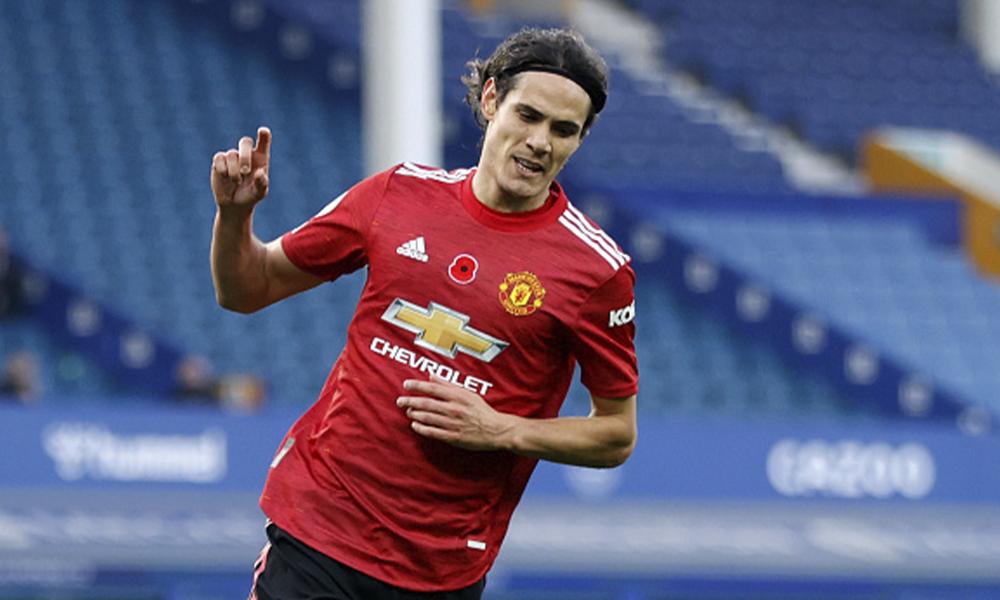 Watch: Edinson Cavani scores the opening goal for Manchester United against Granada