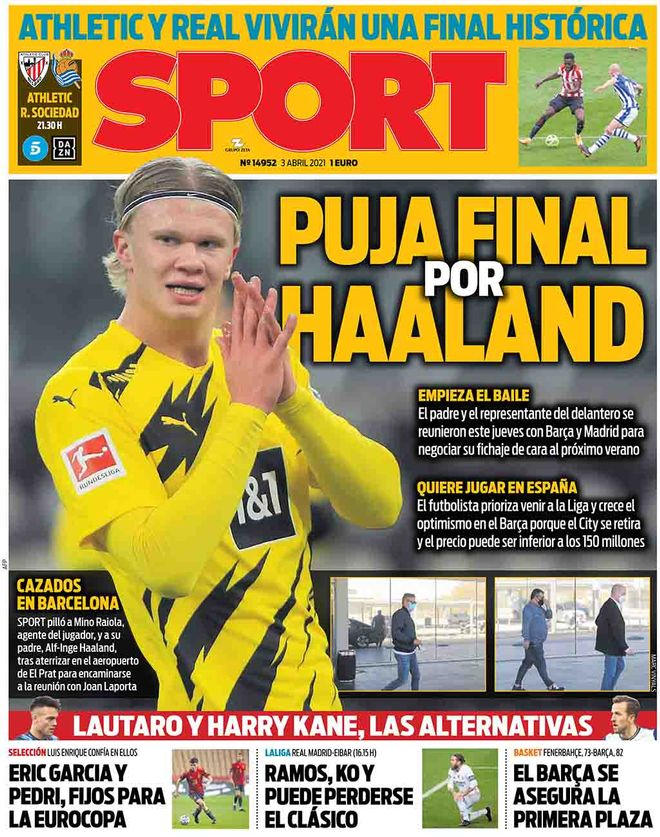 Today's Spanish Papers: Copa del Rey final preview and ...