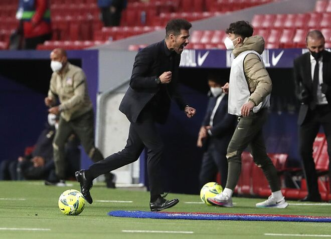 """Diego Simeone: """"Their goal made us really suffer in those last few minutes"""""""