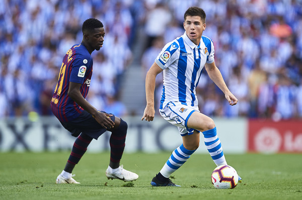 Watch: Igor Zubeldia sets up nervous finish by pulling one back for Real Sociedad at Atletico Madrid